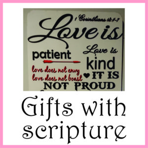 Gifts with scripture